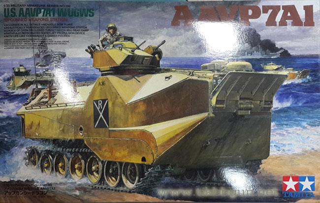 รถสะเทิ้นน้ำสะเทิ้นบก AAV P7A1 1/35 Tamiya (TA35159 )