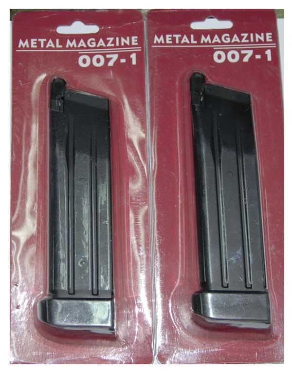 แม๊กปืนสั้นอัดแก๊ส สำหรับปืนตระกูล Hicapa จีนและ WE