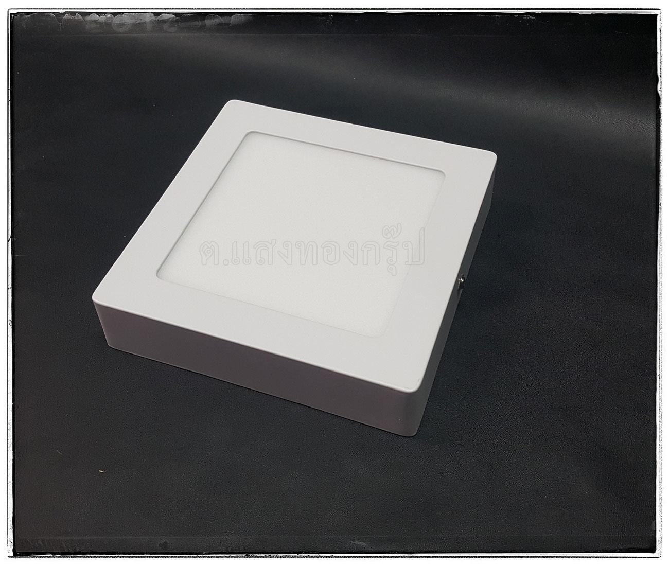 โคมติดเพดานแบบลอย LED ขนาด 172x172x25 มม.