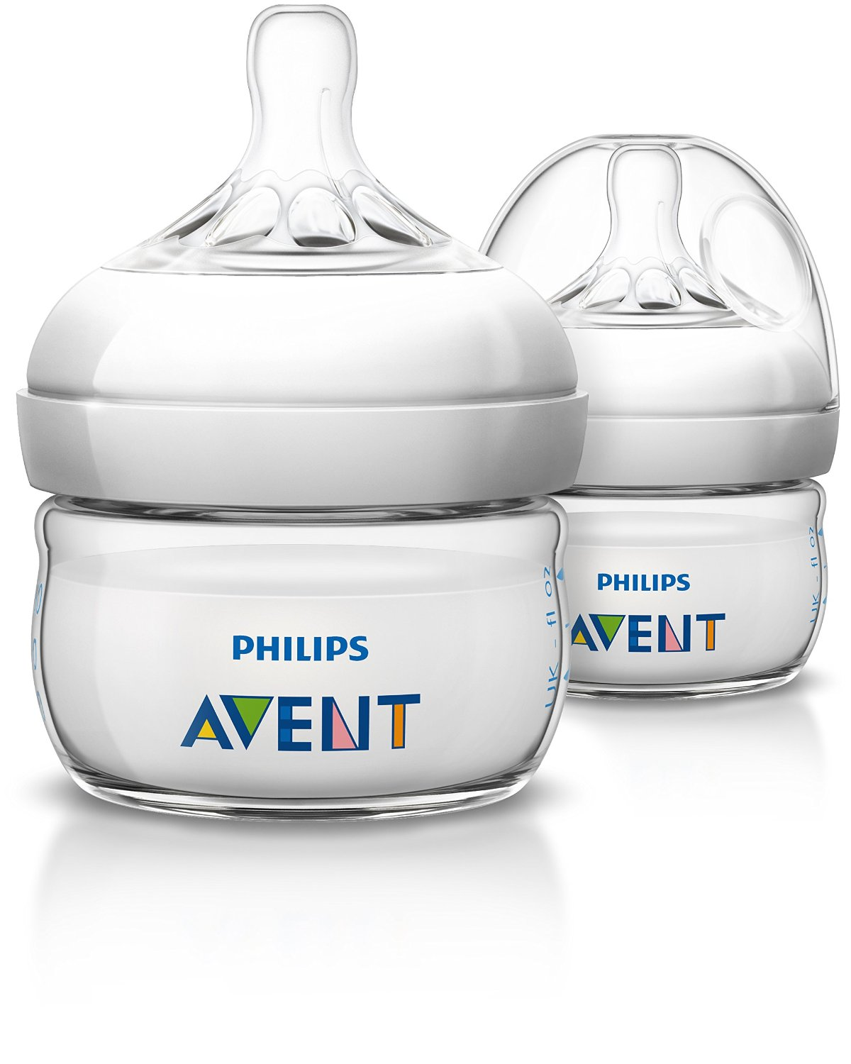 ขวดนม 2oz. Philips AVENT 2 Ounce BPA Free Natural Polypropylene Bottles 2-Pack แพคคู่