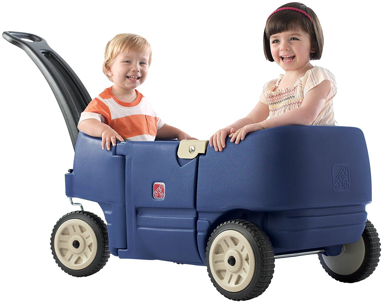 รถเข็นสี่ล้อ Wagon for Two Plus Denim Blue สีน้ำเงินเดนิม
