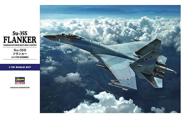 1/72 Su-35S Flanker by Hasegawa HA