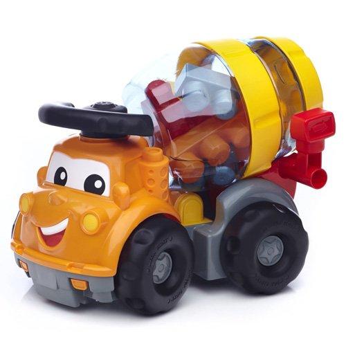 รถและตัวต่อ Mega Bloks Mike The Mixer Building Set สร้างเสริมจินตนาการ ยอดนิยมสำหรับเด็ก