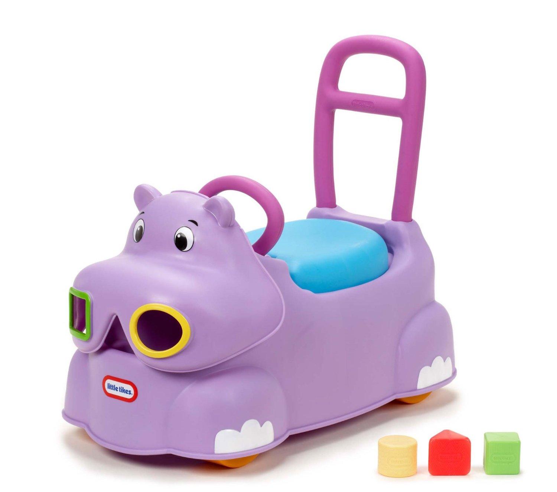 รถผลักเดิน ลายฮิปโป Little Tikes Scoot Around Animal Ride-On – Hippo