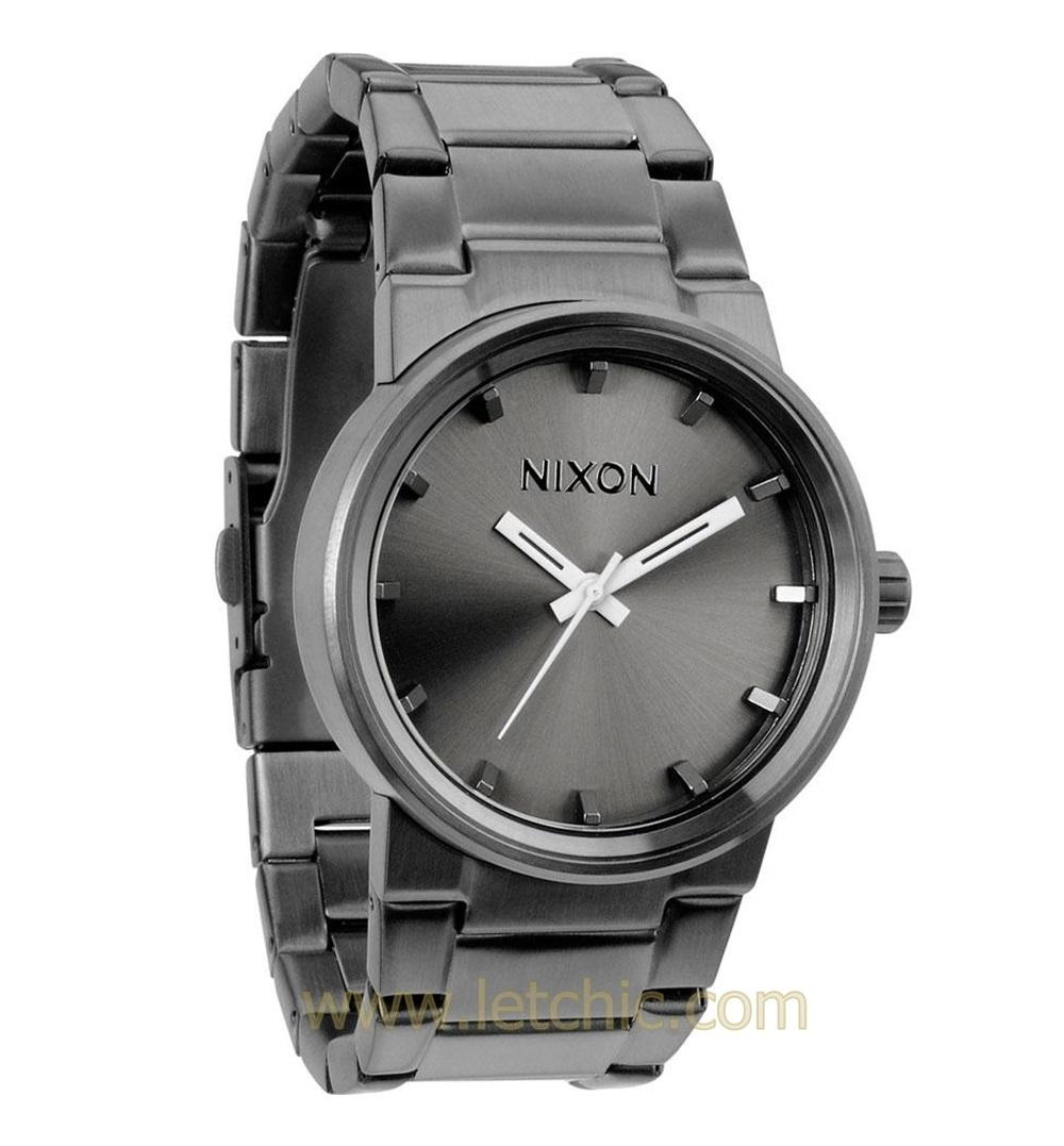 นาฬิกา NIXON รุ่น CANNON A160632 นาฬิกาข้อมือผู้ชาย ของแท้ ประกันศูนย์ไทย 2 ปี ส่งพร้อมกล่อง และใบรับประกัน