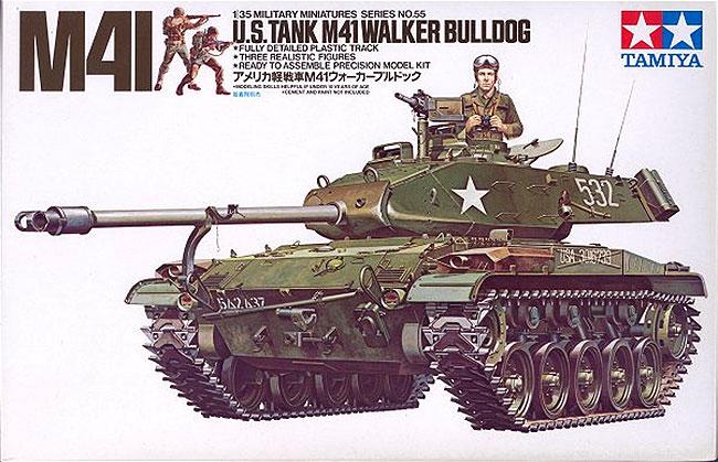 รถถัง US TANK M41 Walker (1/35) Tamiya (TA35055 )