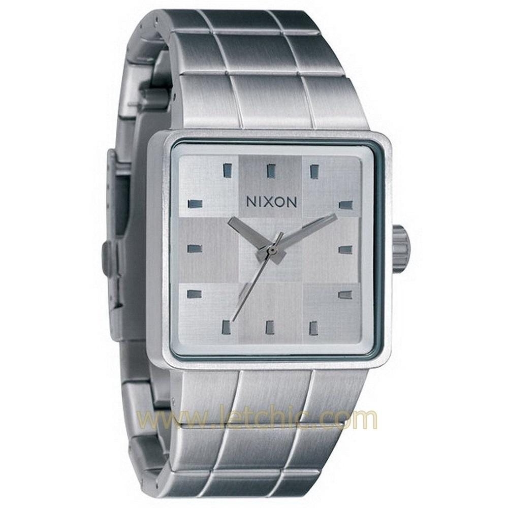 นาฬิกา NIXON รุ่น THE QUATRO A013100 นาฬิกาข้อมือผู้ชาย ของแท้ ประกันศูนย์ไทย 2 ปี ส่งพร้อมกล่อง และใบรับประกัน