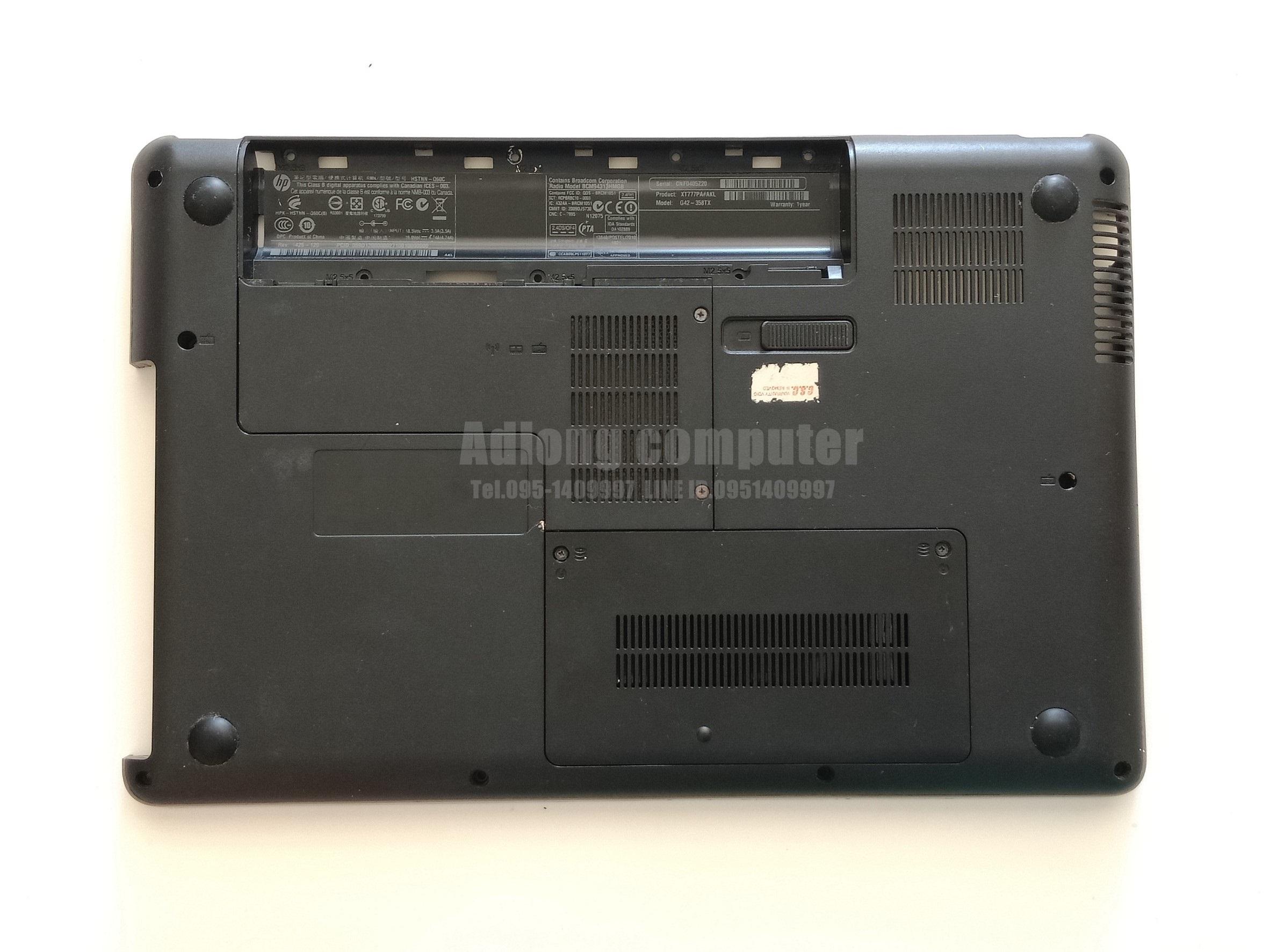 บอดี้ล่างโน๊ตบุ๊ค HP CQ42