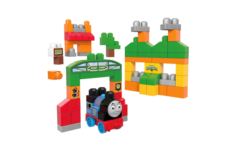 ตัวต่อรถไฟโทมัส Mega Bloks Thomas & Friends Sodor Adventures Building Set