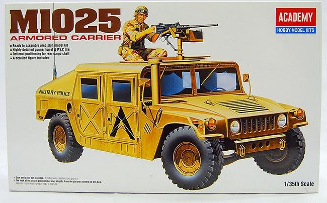 รถ M1025 Armored Carrier (1/35) ACADEMY (AC 13241)