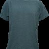 T-Shirt Cotton Spandex แขนสั้น สีเทาเข้ม