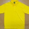 Polo Shirt Cotton 100% สีเหลือง ผู้ชาย