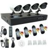 AHD CCTV ชุดกล้องวงจรปิด 4 กล้อง พร้อมติดตั้ง