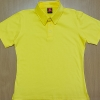 Polo Shirt Cotton 100% สีเหลือง ผู้หญิง
