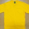 V Neck Cotton 100% สีเหลือง ผู้ชาย