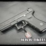 ปืนอัดลม(ปืนระบบแก๊ส) รุ่น Glock 18 ของ SAA (VFC) สไลด์เหล็ก มาร์คกิ้งครบ