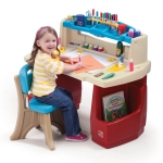 โต๊ะทำการบ้าน Step2 Deluxe Art Master Desk มาพร้อมเก้าอี้ครบเซต