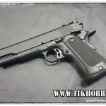 ปืนอัดลมแบบชักยิงทีล่ะนัด 1911Match สีดำ KWC งานใต้หวัน (งานสวย)