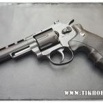 ปืนลูกโม่ ระบบแก๊ส Co2 Wingun708 สีดำ ขนาด 4นิ้ว