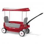 รถวาก้อน หรือ รถเข็นสี่ล้อทรีอินวัน Radio Flyer Grandstand Wagon 3 in 1 with canopy พร้อมร่มกันเเดด
