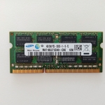 แรมโน๊ตบุ๊ค DDR3/4GB บัส 1600 SAMSUNG