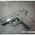 ปืนสั้นระบบแก๊สโบลว์แบล็ค รุ่น M&P มินิ(3.8) สีดำ ไม่ยิงลาย