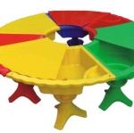 โต๊ะสามัคคีเล่นทรายน้ำ (มีฝาปิด)