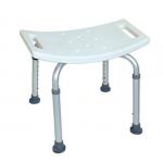 PS135 เก้าอี้นั่งอาบน้ำ (อลูมิเนียม) ปรับระดับขาได้