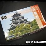 โมเดลปราสาท Hiroshima Castle ขนาด 1:350 จากค่าย Doyusha S29