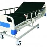 PS23 เตียงผู้ป่วยไฟฟ้า แบบ 3 ฟังก์ชั่น หัว-ท้าย ABS ราวสไลด์ + ที่นอน