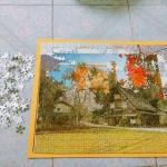 Jigsaw ขนาดภาพ 38x53 cm. จิ๊กซอว์ 500 ชิ้น
