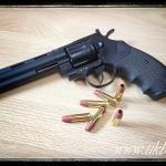ปืนสั้น อัดแก๊ส Python357 6 inch. Black (Co2) จาก KWA ไม่ยิงลาย
