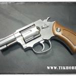 ปืนลูกโม่ ระบบแก๊ส Co2 Wingun731 Silver ขนาด2.5นิ้ว