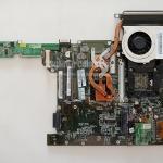 เมนบอร์ด+CPU+ฮีตซิงค์+พัดลม Acer aspire 4720