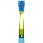 แปรงล้างขวดและจุกนม Sassy รุ่นใหม่ล่าสุด สามารถป้องกันรอยขีดข่วนได้ (Sassy No Scratch Bottle Brush) สีฟ้า