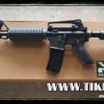 ปืนระบบแก๊สโบลว์แบ็ค M4A1 บอดี้เหล็ก ไม่ยิงลาย จาก WE