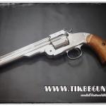 ปืนลูกโม่ คาวบอย Major3 1877 สีgเงิน ระบบ Co2