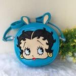 กระเป๋าสะพายทรงกลมหน้าเบตตี้ี่ แบรนด์ Betty Boop ของแท้ 💯%