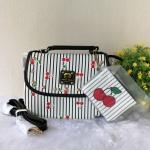 กระเป๋าสะพายฝาพับลายเชอรี่ แบรนด์ Betty Boop แท้💯%