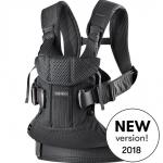 เป้อุ้มเด็ก BABYBJORN Baby Carrier One Air, Black, 3D Mesh 2018 Version รุ่นใหม่ล่าสุด สีดำ