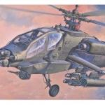 เฮลิคอปเตอร์ AH-64A Apache (1/72) Hasegawa (HA01436)