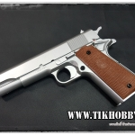 ปืนอัดลมแบบชักยิงทีล่ะนัด 1911 สีเงิน KWC งานใต้หวัน