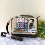 กระเป๋าสะพายฝาพับเหลี่ยม ลายเบตตี้ Betty Boop