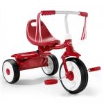 จักรยานสามล้อถีบ แบรนด์ยอดฮิต Radio Flyer Boys Fold 2 Go Tricycle สีแดง