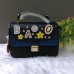 กระเป๋าสะพายข้างกริตเตอร์หน้า BAOBIBI ของแท้ 💯%