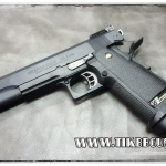 ปืนอัดลม(ปืนระบบแก๊ส) รุ่น Hi-capa5.1R ของ WE สไลด์เหล็ก