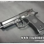 ปืนอัดลม (ปืนระบบแก๊ส) รุ่น M9A1 สีดำ จากWE (Auto) ใต้หวัน