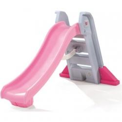 สไลเดอร์ขนาดใหญ่ Step2 Big Folding Slide, Pink สีชมพู เล่นได้ทั้งในและนอกบ้าน
