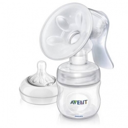 ที่ปั๊มนม Philips Avent Manual Comfort Breast Pump รุ่น BPA-Free รุ่นใหม่ล่าสุด