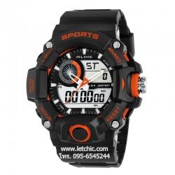 นาฬิกา Alike Sport watch นาฬิกาข้อมือ unisex รุ่น AK14101 Orange - สีส้ม ของแท้ รับประกันศูนย์ 1 ปี ราคาพิเศษ ราคาถูกที่สุด